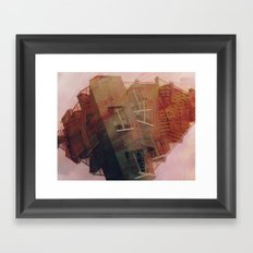 crushed Framed Art Print