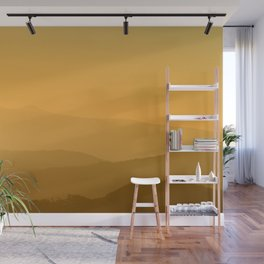 Layers in the eastern Alps Wall Mural
