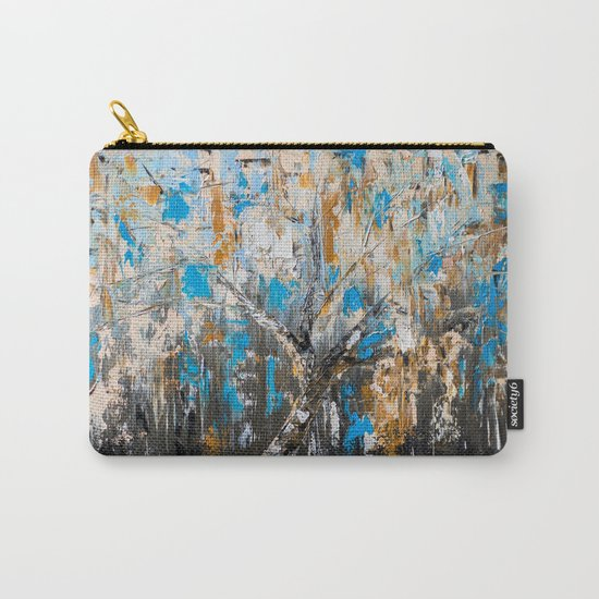 Birch branches Carry-All Pouch
