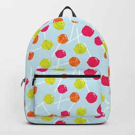 Watercolour Lolly Pops, Watercolor Popsicles Backpack
