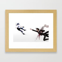 A brief moment Framed Art Print