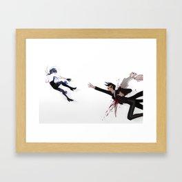 A brief moment Framed Art Print