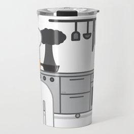 cooked glance Travel Mug