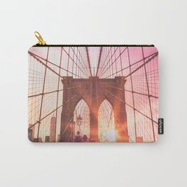 NYC Brooklyn Bridge Carry-All Pouch
