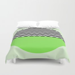 Moiety Green Duvet Cover