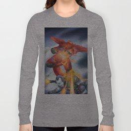 baymax x warmachine Long Sleeve T-shirt
