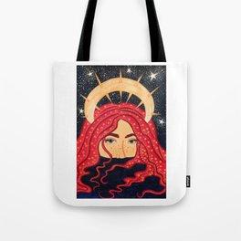 floating goddess Tote Bag