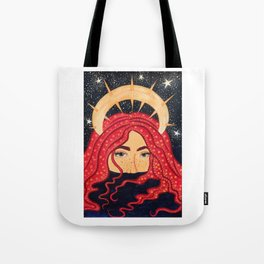 floating goddess Tote Bag