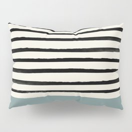 River Stone & Stripes Pillow Sham