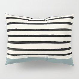 River Stone & Stripes Pillow Sham