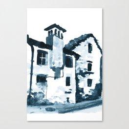 Walking Down The Street Canvas Print