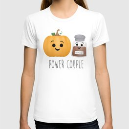 Pumpkin + Spice = Power Couple T-shirt