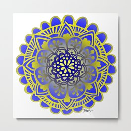 Royal Mandala Metal Print