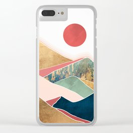 Spring Dusk Clear iPhone Case