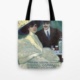 Vintage 1910 Campari Advertisement by Gian Emilio Malerba Tote Bag