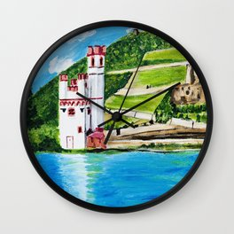 Mouse Tower Bingen Wall Clock