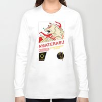 okami Long Sleeve T-shirts featuring NES Okami by IF ONLY