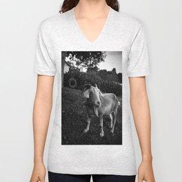 Noddy the Goat Unisex V-Neck
