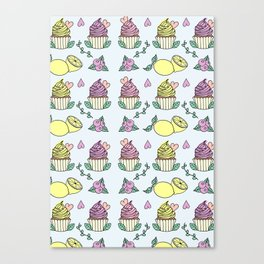 Time For Cupcakes! Canvas Print