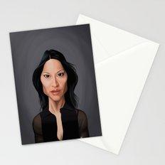 Celebrity Sunday - Lucy Liu Stationery Cards
