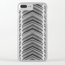 Line Me Up 03 Clear iPhone Case