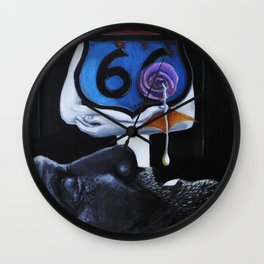 The Mother Road Wall Clock