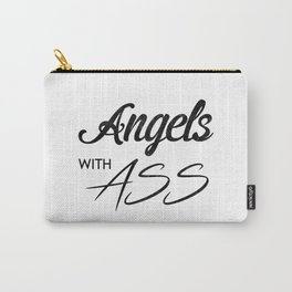 Angels with Ass Carry-All Pouch