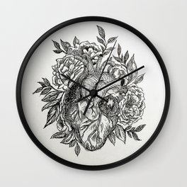 Flowers of your Love Wall Clock