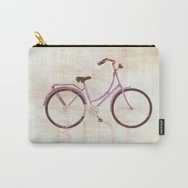 bike pink Carry-All Pouch