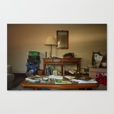 Friend's living room Canvas Print