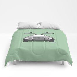 #4 Delorean Comforters