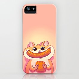 Hamster Happiness iPhone Case