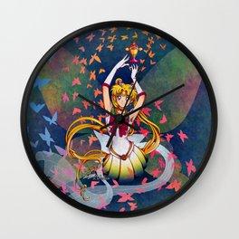 Super Sailor Moon and Rainbow Moon Chalice Wall Clock