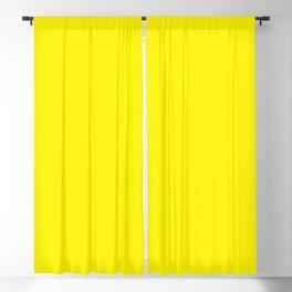 Flower Garden ~ Yellow Blackout Curtain