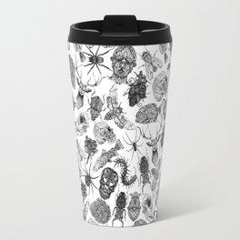 Pattern Black Travel Mug
