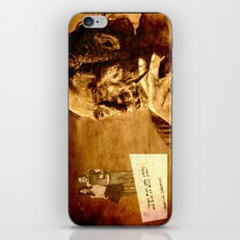 Charles Bukowski - love version iPhone Skin