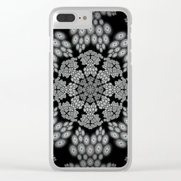 Falling in and out Clear iPhone Case