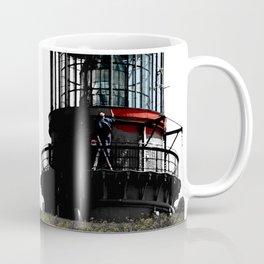Painting the lighthouse Coffee Mug