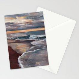 Samoa Beach - Evening Stationery Cards
