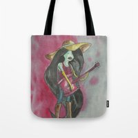marceline Tote Bags featuring marceline by Dan Solo Galleries