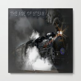 The Age of Steam Metal Print