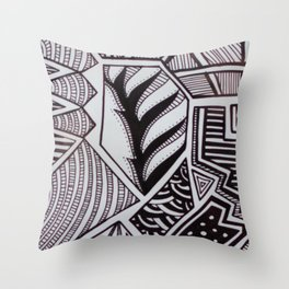 Geometrico PB Throw Pillow