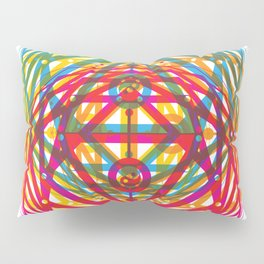 4 Corners of Abundance (wide) Pillow Sham
