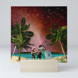 Serenade on the Beach Mini Art Print