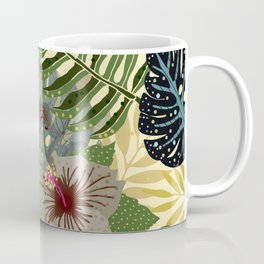 My abstract Aloha Jungle Garden Coffee Mug