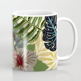 My abstract Aloha Jungle Garden Coffee Mug