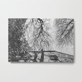 Above Antwerp Metal Print