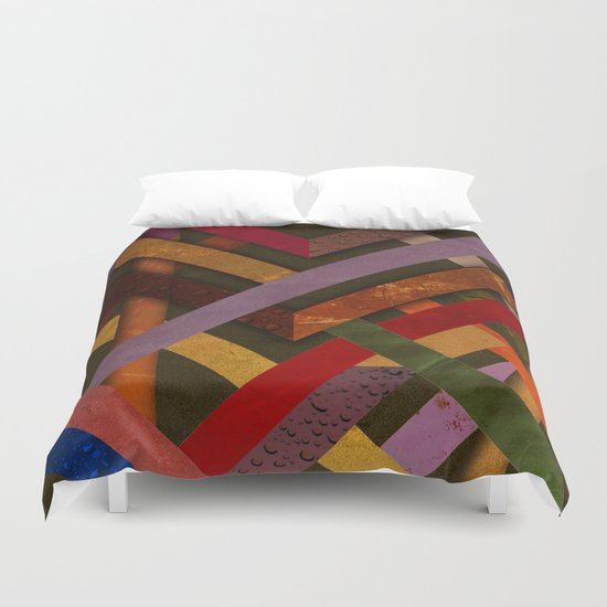 Abstract #290 Duvet Cover