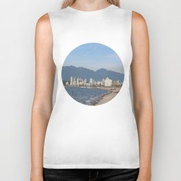 View of Vancouver from Kits Beach Biker Tank