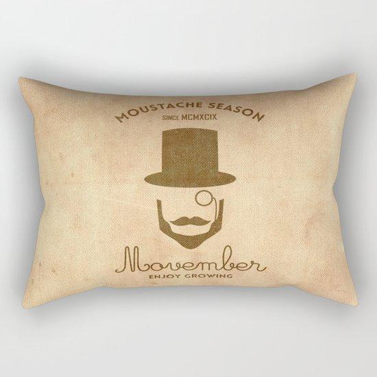 Moustache season Rectangular Pillow